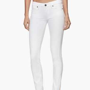 Paige - White Cropped Jeans